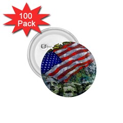 Usa United States Of America Images Independence Day 1.75  Buttons (100 pack)