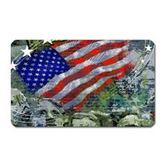 Usa United States Of America Images Independence Day Magnet (rectangular)