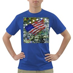 Usa United States Of America Images Independence Day Dark T-Shirt