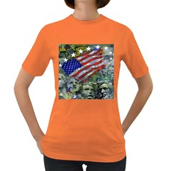 Usa United States Of America Images Independence Day Women s Dark T-Shirt