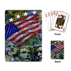 Usa United States Of America Images Independence Day Playing Card