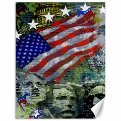 Usa United States Of America Images Independence Day Canvas 12  x 16