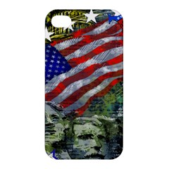 Usa United States Of America Images Independence Day Apple iPhone 4/4S Premium Hardshell Case