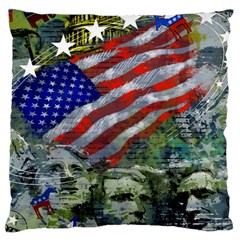 Usa United States Of America Images Independence Day Large Cushion Case (One Side)