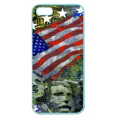 Usa United States Of America Images Independence Day Apple Seamless iPhone 5 Case (Color)