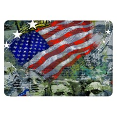 Usa United States Of America Images Independence Day Samsung Galaxy Tab 8 9  P7300 Flip Case