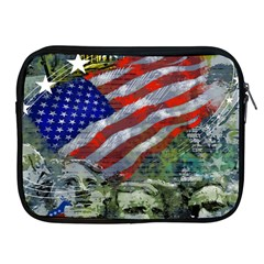 Usa United States Of America Images Independence Day Apple iPad 2/3/4 Zipper Cases