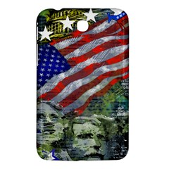 Usa United States Of America Images Independence Day Samsung Galaxy Tab 3 (7 ) P3200 Hardshell Case
