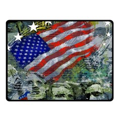 Usa United States Of America Images Independence Day Double Sided Fleece Blanket (small)