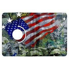 Usa United States Of America Images Independence Day Kindle Fire HDX Flip 360 Case
