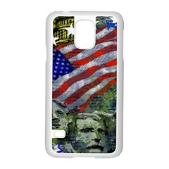 Usa United States Of America Images Independence Day Samsung Galaxy S5 Case (White)