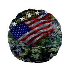 Usa United States Of America Images Independence Day Standard 15  Premium Flano Round Cushions