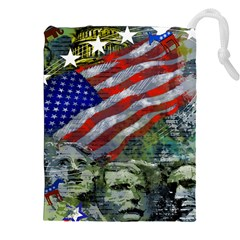 Usa United States Of America Images Independence Day Drawstring Pouches (xxl)