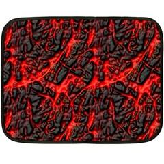 Volcanic Textures Fleece Blanket (mini)