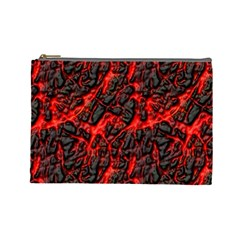 Volcanic Textures Cosmetic Bag (Large)