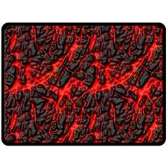 Volcanic Textures Fleece Blanket (large)
