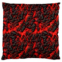 Volcanic Textures Large Cushion Case (Two Sides)