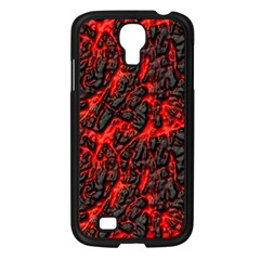Volcanic Textures Samsung Galaxy S4 I9500/ I9505 Case (Black)