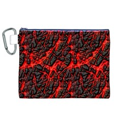 Volcanic Textures Canvas Cosmetic Bag (XL)