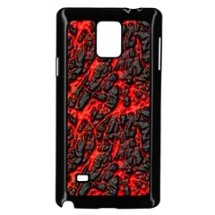 Volcanic Textures Samsung Galaxy Note 4 Case (Black)