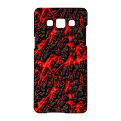 Volcanic Textures Samsung Galaxy A5 Hardshell Case