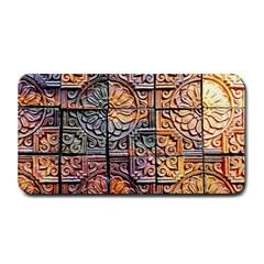 Wooden Blocks Detail Medium Bar Mats