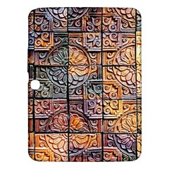 Wooden Blocks Detail Samsung Galaxy Tab 3 (10.1 ) P5200 Hardshell Case
