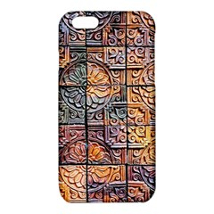Wooden Blocks Detail iPhone 6/6S TPU Case