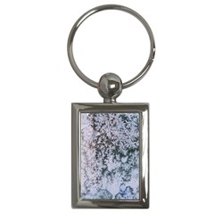 Frosted Winter Texture Key Chains (Rectangle)