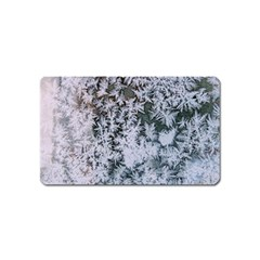 Frosted Winter Texture Magnet (Name Card)