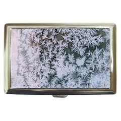 Frosted Winter Texture Cigarette Money Cases