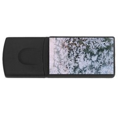 Frosted Winter Texture USB Flash Drive Rectangular (4 GB)