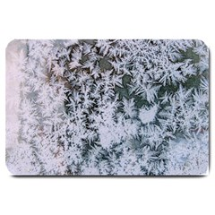 Frosted Winter Texture Large Doormat
