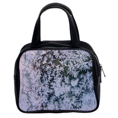 Frosted Winter Texture Classic Handbags (2 Sides)