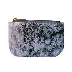 Frosted Winter Texture Mini Coin Purses