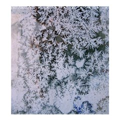 Frosted Winter Texture Shower Curtain 66  x 72  (Large)