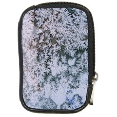 Frosted Winter Texture Compact Camera Cases