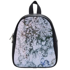 Frosted Winter Texture School Bags (Small)