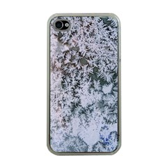 Frosted Winter Texture Apple iPhone 4 Case (Clear)