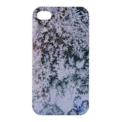 Frosted Winter Texture Apple iPhone 4/4S Hardshell Case