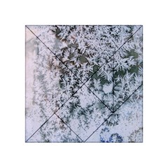 Frosted Winter Texture Acrylic Tangram Puzzle (4  x 4 )