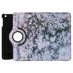 Frosted Winter Texture Apple iPad Mini Flip 360 Case