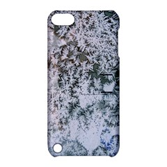 Frosted Winter Texture Apple iPod Touch 5 Hardshell Case with Stand
