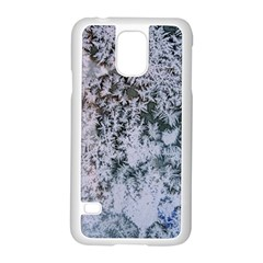 Frosted Winter Texture Samsung Galaxy S5 Case (White)