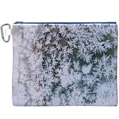 Frosted Winter Texture Canvas Cosmetic Bag (XXXL)