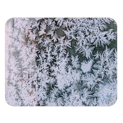 Frosted Winter Texture Double Sided Flano Blanket (Large)