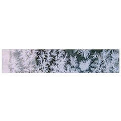 Frosted Winter Texture Flano Scarf (Small)