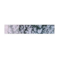 Frosted Winter Texture Flano Scarf (Mini)
