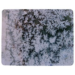 Frosted Winter Texture Jigsaw Puzzle Photo Stand (Rectangular)