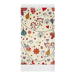 Spring Floral Pattern With Butterflies Shower Curtain 36  x 72  (Stall)